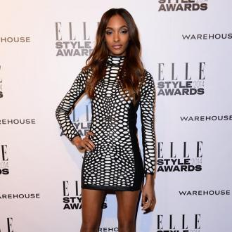 Jourdan Dunn's unusual hair brush