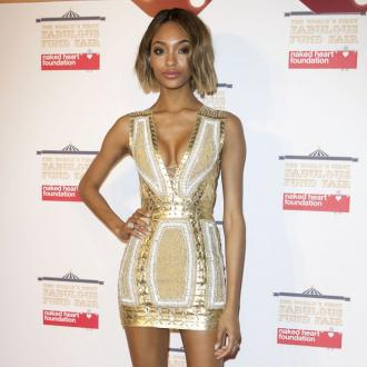 Jourdan Dunn designs a tattoo