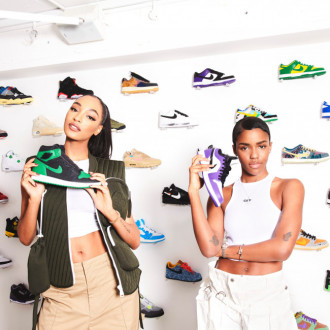 Jourdan Dunn teams up with Kick Game to 'champion female sneaker fans'