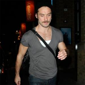 Jude Law Changed By Moustache