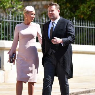 James Corden almost objected to royal wedding with a sneeze