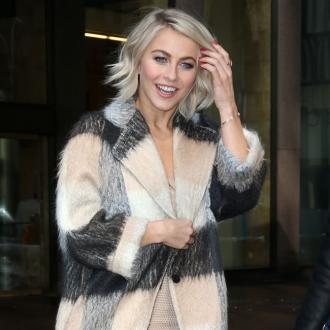 'Happy and blessed' Julianne Hough