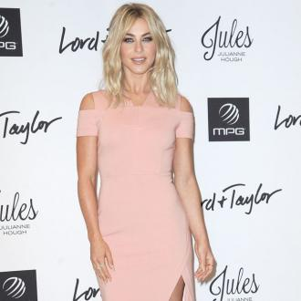 Julianne Hough does yoga before Dancing with the Stars