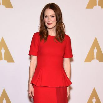 Julianne Moore stops shopping for the planet