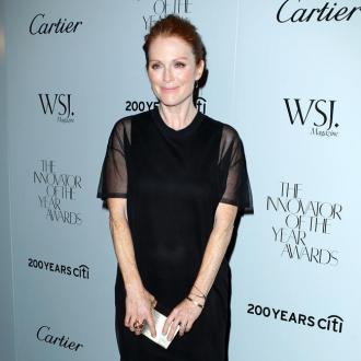 Julianne Moore Jokes 'Old Age' Prevents Workout Routine