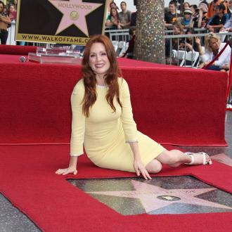 Julianne Moore Gets Hollywood Walk Of Fame Star