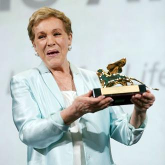 Julie Andrews honoured at Venice Film Festival