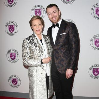 Sam Smith: Meeting Julie Andrews was a 'dream come true'