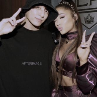 Ariana Grande bonds with BTS' Jungkook after show