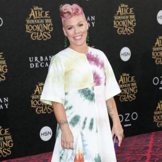 Pink is back in the studio