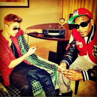 R. Kelly And Justin Collaborate