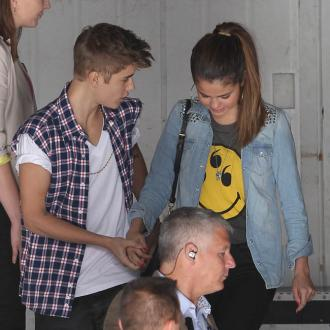 Justin Bieber And Selena Gomez Attend Bible Class