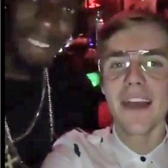 Justin Bieber parties with Liam Payne
