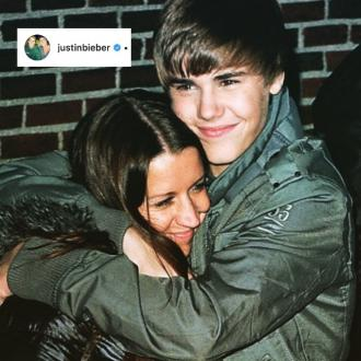 Justin Bieber praises mother on Mother's Day