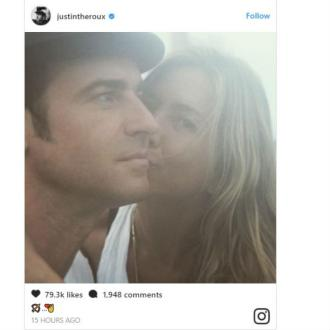 Justin Theroux shares romantic photo with Jennifer Aniston