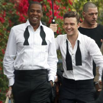 Justin Timberlake Joined By Jay-z At Yahoo! Wireless