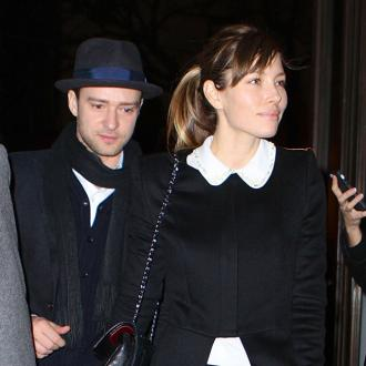 Joey Fatone confirms Jessica Biel is pregnant