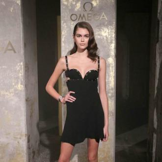Kaia Gerber follows in Cindy Crawford's footsteps with Omega