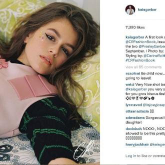 Kaia Gerber: Photo shoot with my brother was 'amazing'
