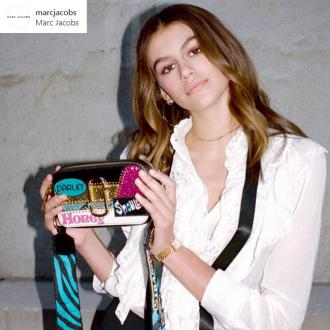 Kaia Gerber designs her own limited edition bag for Marc Jacobs