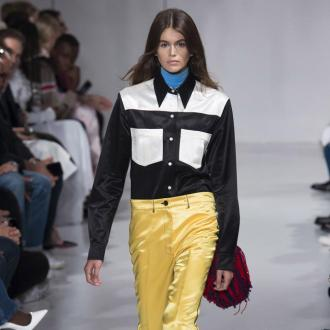 Kaia Gerber makes her catwalk debut