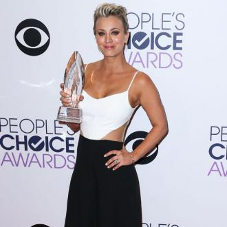 Kaley Cuoco-Sweeting forgot to thank husband
