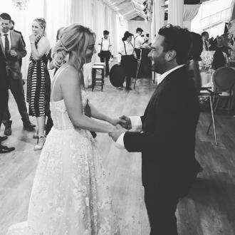 Johnny Galecki Congratulates 'Fake Wife' Kaley Cuoco