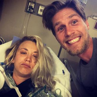 Kaley Cuoco undergoes shoulder surgery during honeymoon