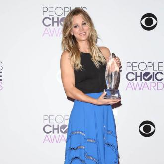 Kaley Cuoco Dedicates People's Choice Award To Ryan Sweeting