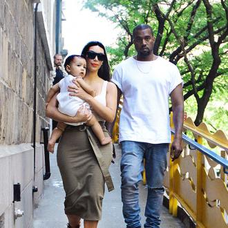 Protective Father Kanye West