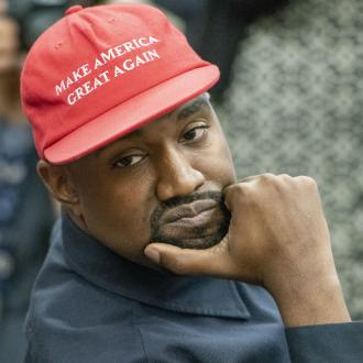 Kanye West running for president under the Birthday Party