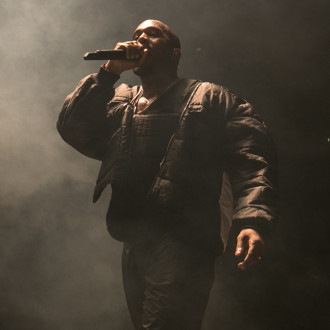Kanye West fan selling bag of air from album event