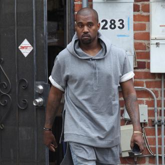 Kanye West Invented Leather Jogging Pants