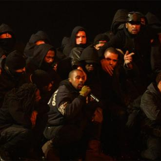 Kanye West performs surprise London show with Big Sean and Raekwon
