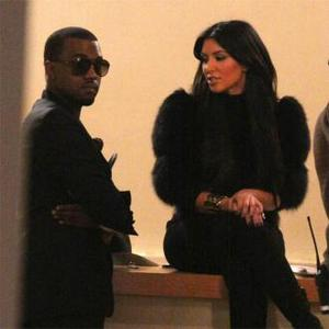 Kanye West Joins The Kardashian Family For Dinner