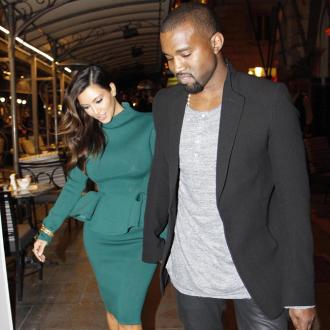 Kanye West Loves Kim's Pregnant Body