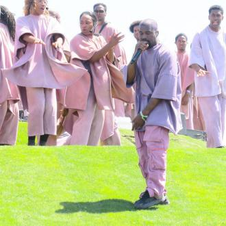 Kanye West debuts new song Water at Coachella Sunday service