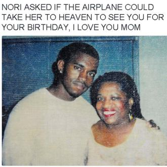 Kanye West shares North's tribute to his late mother