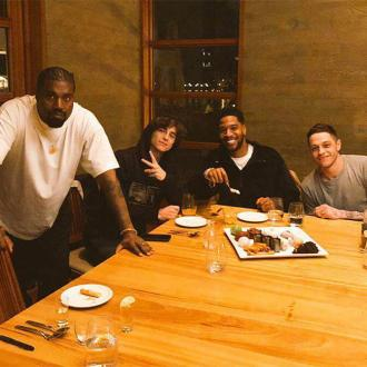 Kanye West and Pete Davidson come together to celebrate Kid Cudi's birthday