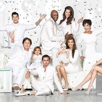 Kim Kardashian Unveils Family Christmas Card