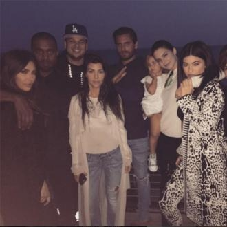 Kardashian Family Enjoy Scavenger Hunt