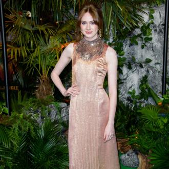 Karen Gillan says the Jumanji: Welcome to the Jungle cast was 'intimidating'