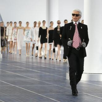 Karl Lagerfeld's Sunglasses Balance 'Ugly Faces'