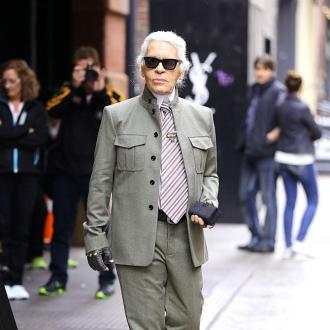 Karl Lagerfeld Finds Exercise Pointless