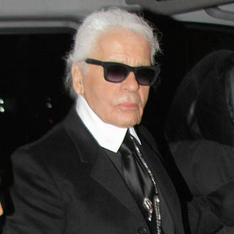 Karl Lagerfeld owns 300,000 books