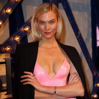 Karlie Kloss 'always' overdraws top lip line