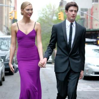 Karlie Kloss and Joshua Kushner hold wedding party