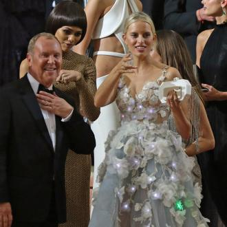 Karolina Kurkova's Light Up Met Gala Dress