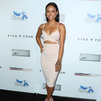 Karrueche Tran's minimal make-up