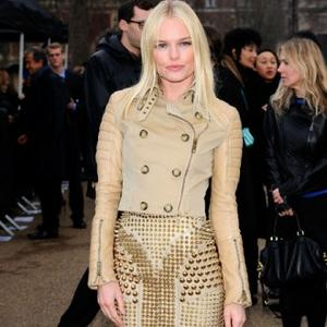 Kate Bosworth Joins Star-studded Burberry Show